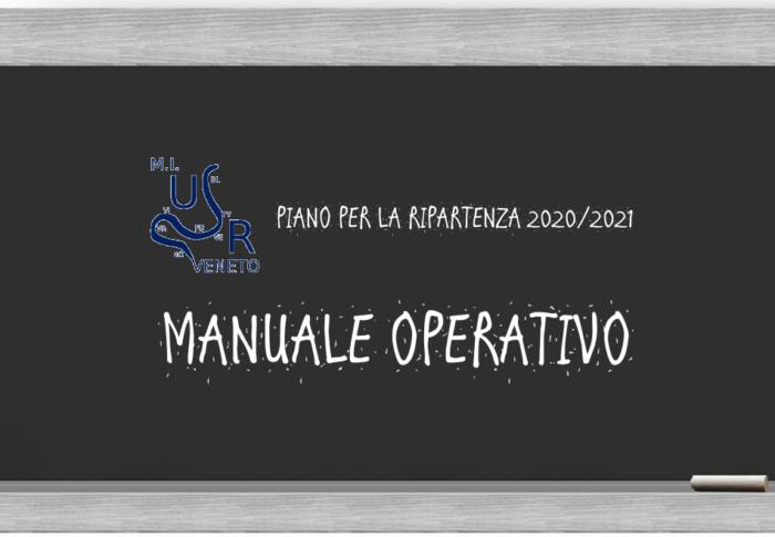 Manuale della Regione Veneto per l'avvio del nuovo Anno Scolastico